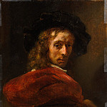 Metropolitan Museum: part 4 - Style of Rembrandt - Man in a Red Cloak