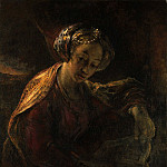 Willem Drost – The Sibyl, Metropolitan Museum: part 4
