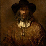 Style of Rembrandt – Man with a Beard, Metropolitan Museum: part 4