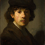 Style of Rembrandt – Rembrandt as a Young Man, Metropolitan Museum: part 4