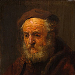 Style of Rembrandt – Study Head of an Old Man, Metropolitan Museum: part 4