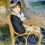 Auguste Renoir – By the Seashore, Metropolitan Museum: part 4
