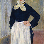 Metropolitan Museum: part 4 - Auguste Renoir - A Waitress at Duval's Restaurant