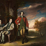 Metropolitan Museum: part 4 - Sir Joshua Reynolds - The Honorable Henry Fane (1739–1802) with Inigo Jones and Charles Blair