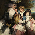 Sir Joshua Reynolds – Lady Smith and Her Children , Metropolitan Museum: part 4