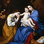 Jusepe de Ribera – The Holy Family with Saints Anne and Catherine of Alexandria, Metropolitan Museum: part 4