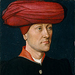Metropolitan Museum: part 4 - Netherlandish Painter, second quarter 15th century - Portrait of a Man in a Turban