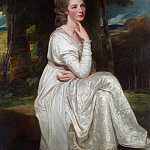 George Romney – Lady Elizabeth Stanley , Countess of Derby, Metropolitan Museum: part 4