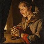 Metropolitan Museum: part 4 - Matthias Stom - Old Woman Praying