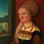 Metropolitan Museum: part 4 - Bernhard Strigel - Portrait of a Woman