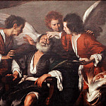Bernardo Strozzi – Tobias Curing His Father's Blindness, Metropolitan Museum: part 4