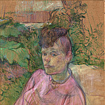 Metropolitan Museum: part 4 - Henri de Toulouse-Lautrec - Woman in the Garden of Monsieur Forest