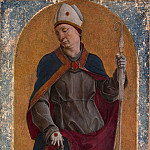 Cosmè Tura – Saint Louis of Toulouse, Metropolitan Museum: part 4