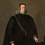 Metropolitan Museum: part 4 - Velázquez (Spanish, Seville 1599–1660 Madrid) - Philip IV (1605–1665), King of Spain