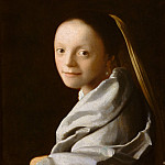 Johannes Vermeer – Study of a Young Woman, Metropolitan Museum: part 4