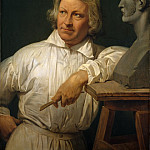 Metropolitan Museum: part 4 - Horace Vernet - Bertel Thorvaldsen (1768–1844) with the Bust of Horace Vernet