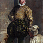 Metropolitan Museum: part 4 - Paolo Veronese (Italian, Verona 1528–1588 Venice) - Boy with a Greyhound