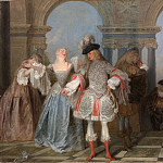 Metropolitan Museum: part 4 - Antoine Watteau - The French Comedians