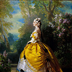 The Empress Eugénie (), Franz Xavier Winterhalter