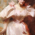 Frieda Schiff (), Later Mrs. Felix M. Warburg, Anders Zorn