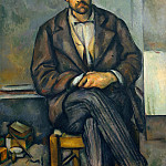 Seated Peasant, Paul Cezanne