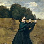 Camille Corot – The Curious Little Girl, Metropolitan Museum: part 4