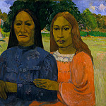 Two Women, Paul Gauguin