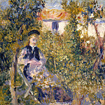 Auguste Renoir – Nini in the Garden , Metropolitan Museum: part 4