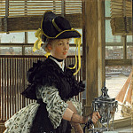 James Tissot – Tea, Metropolitan Museum: part 4