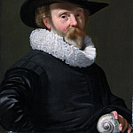 Metropolitan Museum: part 4 - Thomas de Keyser 1596/97–1667 Amsterdam) - Portrait of a Man with a Shell