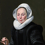 Metropolitan Museum: part 4 - Thomas de Keyser 1596/97–1667 Amsterdam) - Portrait of a Woman with a Balance