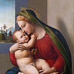 Metropolitan Museum: part 4 - Francesco Granacci (Italian, Villamagna 1469–1543 Florence) - Madonna and Child
