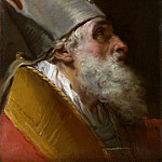 Metropolitan Museum: part 4 - Gaetano Gandolfi - Head of a Bishop