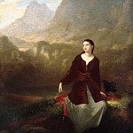 Metropolitan Museum: part 4 - Washington Allston - The Spanish Girl in Reverie