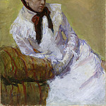 Metropolitan Museum: part 4 - Mary Cassatt - Portrait of the Artist