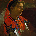 Thomas Eakins – Carmelita Requena, Metropolitan Museum: part 4