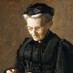 Thomas Eakins – Mrs. Mary Arthur, Metropolitan Museum: part 4