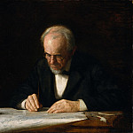 Thomas Eakins – The Writing Master, Metropolitan Museum: part 4