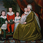 Metropolitan Museum: part 4 - Ralph Earl - Mrs. Noah Smith and Her Children