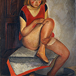 Metropolitan Museum: part 4 - Boris Grigoriev - The Model