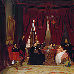 Eastman Johnson – The Hatch Family, Metropolitan Museum: part 4