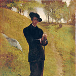 Portrait of the Painter, John La Farge