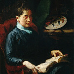 Metropolitan Museum: part 4 - Susan Macdowell Eakins - Woman Reading