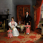 Metropolitan Museum: part 4 - Attributed to George W. Twibill Jr - The Family of John Q. Aymar