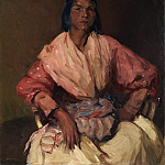 Metropolitan Museum: part 4 - Robert Henri - The Spanish Gypsy