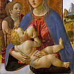 Metropolitan Museum: part 4 - Cosimo Rosselli - Madonna and Child with the Young Saint John the Baptist