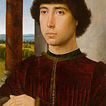 Portrait of a Young Man, Hans Memling