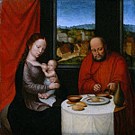 Netherlandish Painter, second half of 16th century – Virgin and Child with Saint Joseph, Metropolitan Museum: part 4