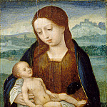 Metropolitan Museum: part 4 - Master of the Half-Lengths - Virgin and Child