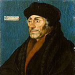Hans Holbein the Younger – Erasmus of Rotterdam, Metropolitan Museum: part 4